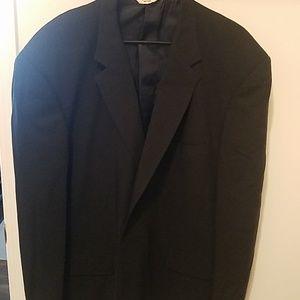 3 4 $25🍒 ProntoUomo Sport Coat/Blazer. NAVY. 50R